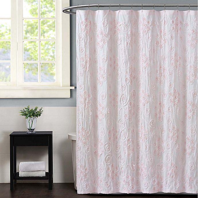 Alternate image 1 for Christian Siriano NY® Pretty Petals Shower Curtain
