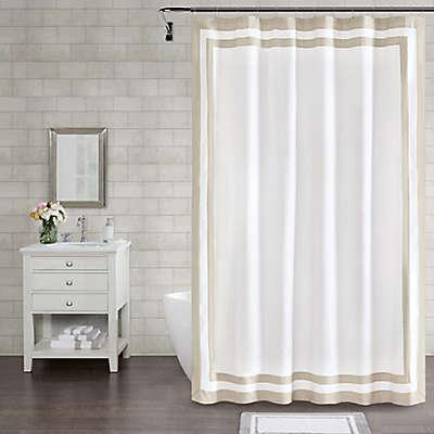 Wamsutta® Hotel Border Shower Curtain