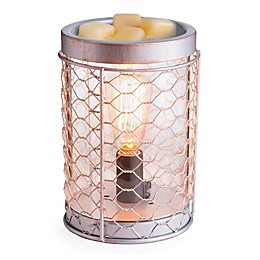Chicken Wire Edison Bulb Illumination Fragrance Warmer