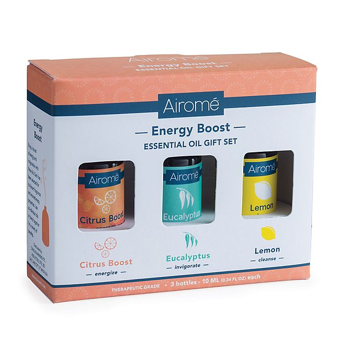 Alternate image 1 for Energy Boost 100% Pure 10 ml. Essential Oils Gift Set