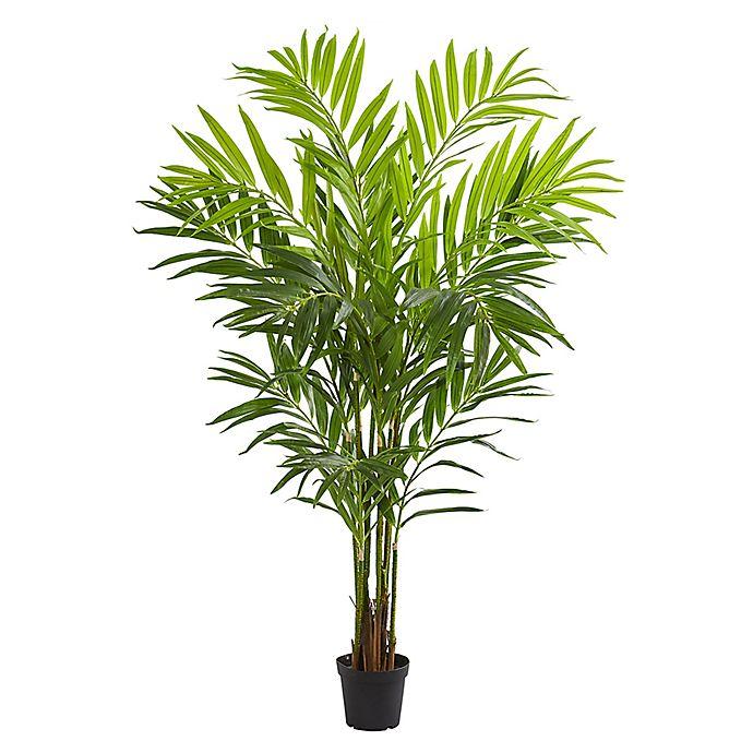 TWO 8.5/' Artificial Kentia Palm Tree Silk Plant Full