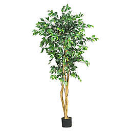Nearly Natural 5-Foot Artificial Ficus Tree