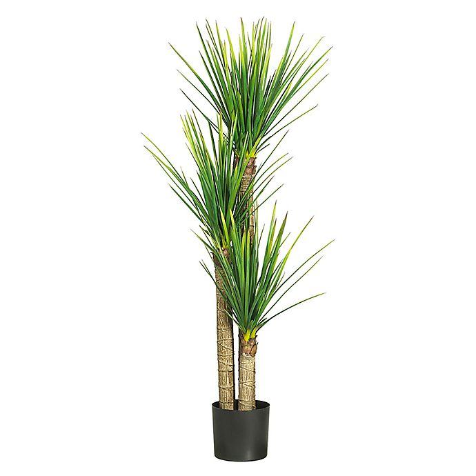 Alternate image 1 for Nearly Natural 5-Foot Artificial Yucca Tree in Planter