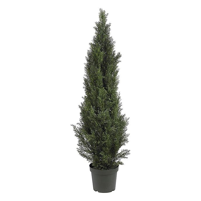 Alternate image 1 for Nearly Natural 5-Foot Artificial Mini Cedar Pine Tree