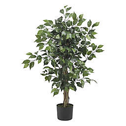 Nearly Natural 3-Foot Artificial Ficus Tree