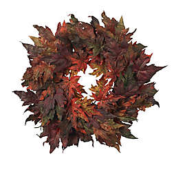 Nearly Natural 30-Inch Maple Leaf Wreath