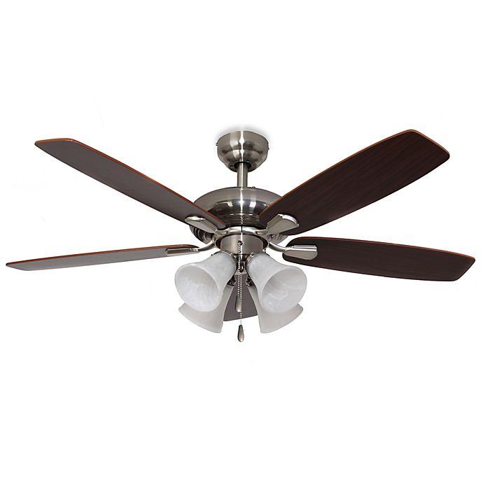 Buy 42-Inch Dorset 4-Light Brushed Nickel Ceiling Fan From