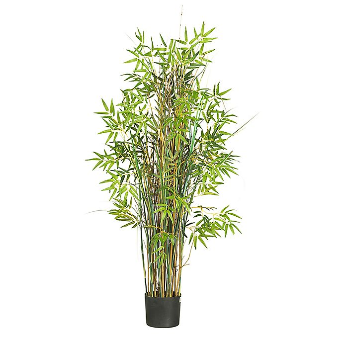 Alternate image 1 for Nearly Natural 5-Foot Bamboo Grass Silk Plant