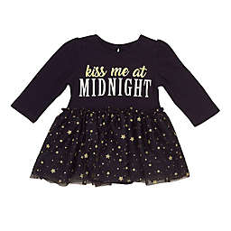 Baby Starters® Kiss Midnight Dress in Black