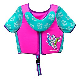 Small/Medium Swim Trainer Deluxe Vest in Pink/Blue