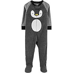 carter's® Penguin Footie in Grey