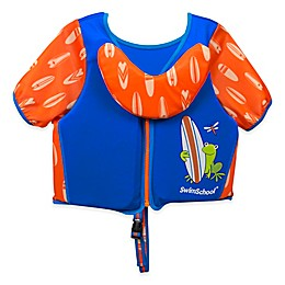Small/Medium Swim Trainer Deluxe Vest in Blue/Orange