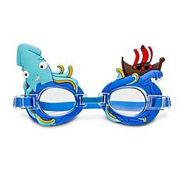 Squiddy Swim Goggles in Blue