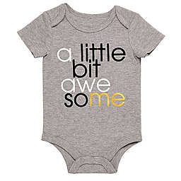 "Baby Starters® BWA® ""A Little Bit Awesome"" Bodysuit in Grey"
