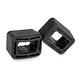 Lulabloc Seat Belt Holder in Black (2-Pack)