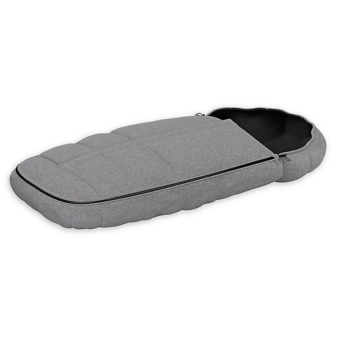 Alternate image 1 for Thule Sleek Stroller Footmuff in Grey Melange