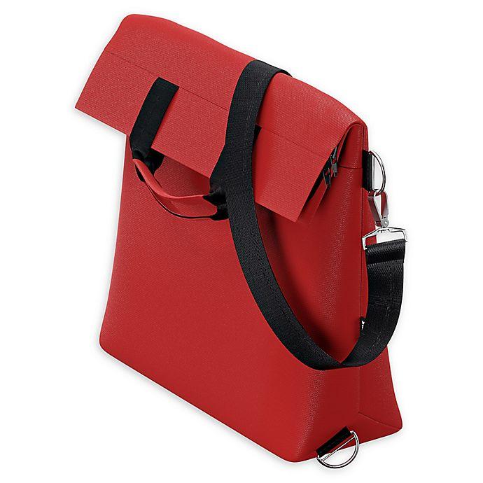 Alternate image 1 for Thule Sleek Stroller Changing Bag in Energy Red