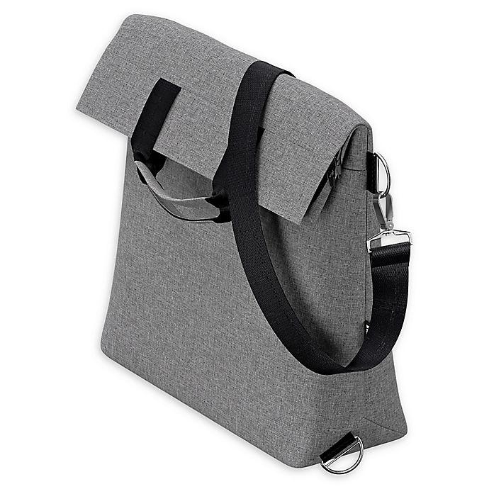 Alternate image 1 for Thule Sleek Stroller Changing Bag in Grey Melange