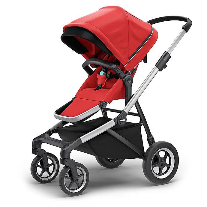 Alternate image 1 for Thule Sleek Stroller in Energy Red