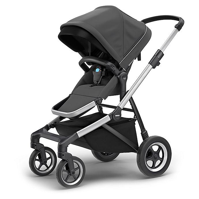 Alternate image 1 for Thule Sleek Stroller in Shadow Grey