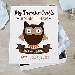 Woodland Adventure Owl Keepsake Box