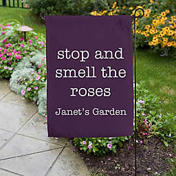 Expressions Personalized Garden Flag