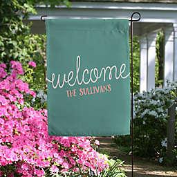 Front Door Greetings Personalized Garden Flag