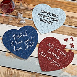 Expressions Write Your Own Personalized Heart Puzzle