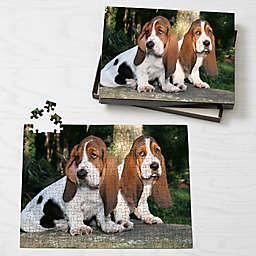 Personalized 252-Piece Pet Photo Puzzle - Horizontal