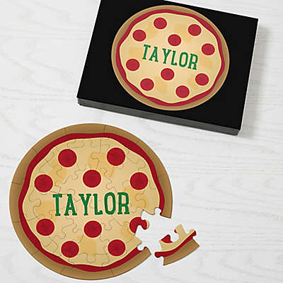 Pizza Personalized 26-Piece Puzzle
