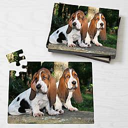Personalized 25-Piece Pet Photo Puzzle - Horizontal