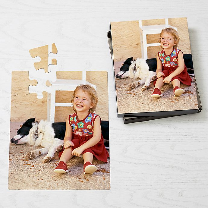 Alternate image 1 for Personalized 25-Piece Pet Photo Puzzle - Vertical