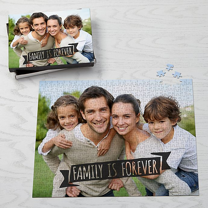 Alternate image 1 for Photo Expressions Personalized 500-Piece Photo Puzzle