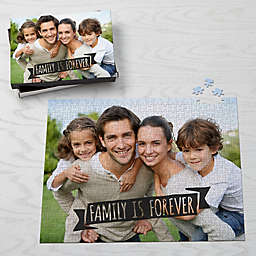Photo Expressions Personalized 500-Piece Photo Puzzle