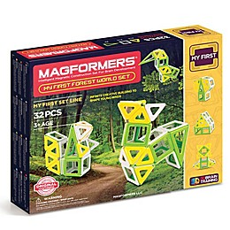 Magformers® 32-Piece My First Forest World Building Set
