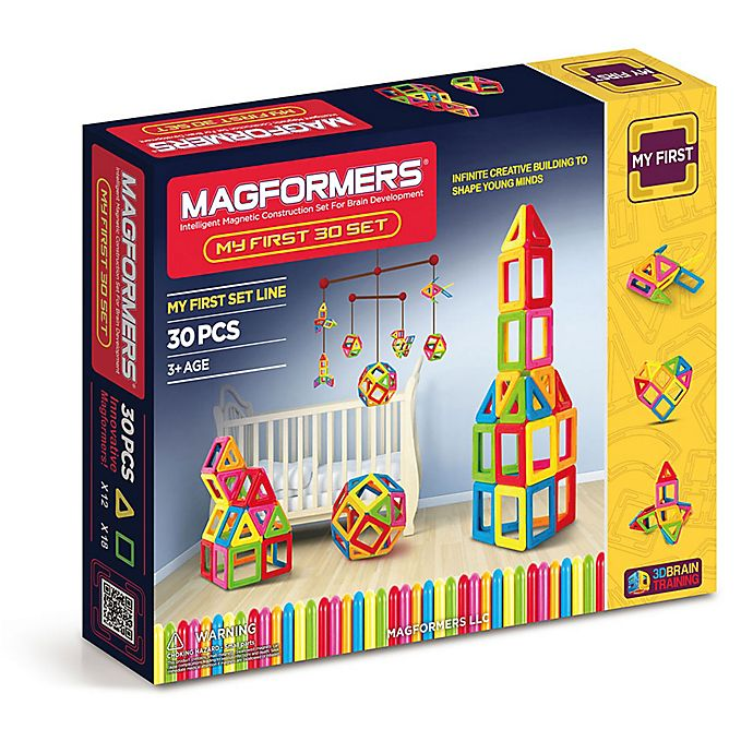 Alternate image 1 for Magformers® 30-Piece My First Building Set