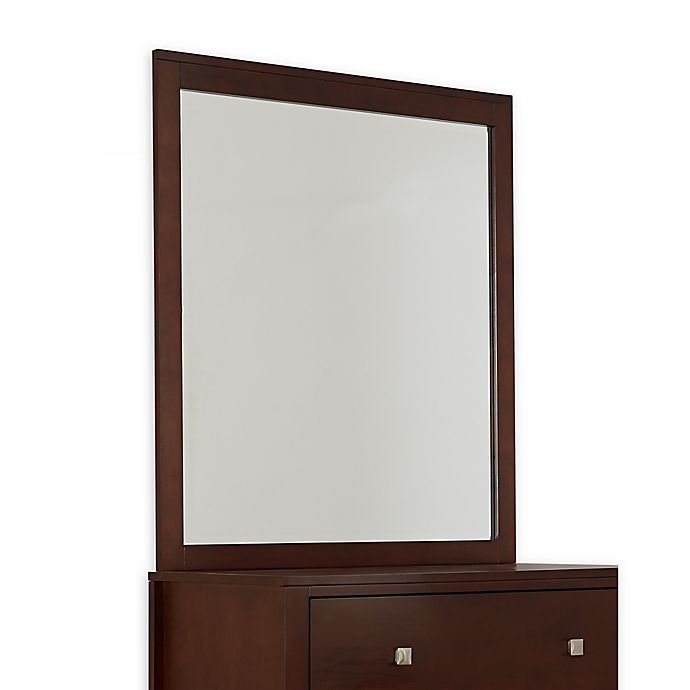 Alternate image 1 for Hillsdale Kids and Teen Pulse 34-Inch x 39-Inch Mirror in Chocolate