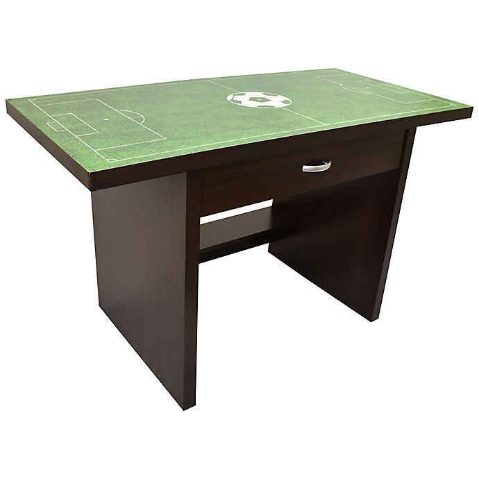 Alternate image 1 for Rack Furniture Sports Fan Soccer Desk