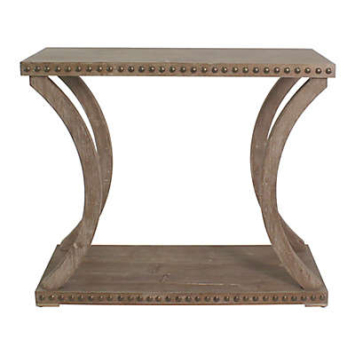 Paisley Console Table in Natural
