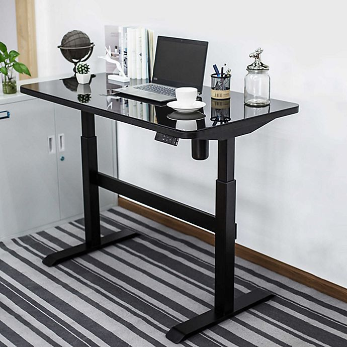 Alternate image 1 for Adjustable Height Smart Desk