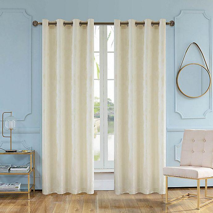 Alternate image 1 for Skye 84-Inch Grommet Window Curtain Panel in Cream