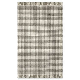 Bee & Willow™ Home Camden Plaid 6' x 9' Area Rug in Grey/Ivory