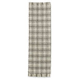 Bee & Willow™ Home Camden Plaid 2'3 x 8' Runner in Grey/Ivory