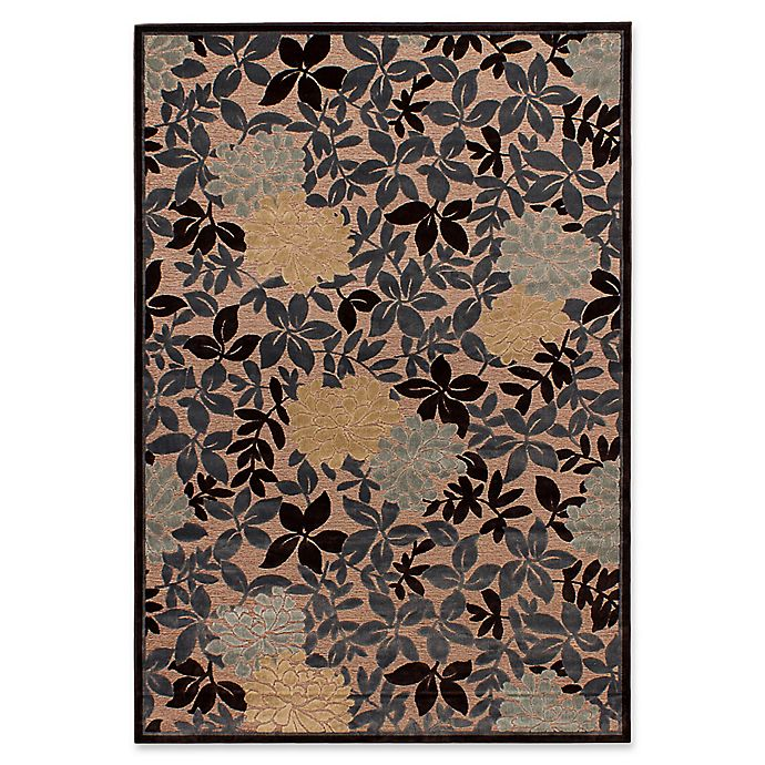 7 6 X 10 Area Rug In Brown Grey