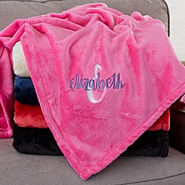 Playful Name For Her Personalized Fleece Blanket