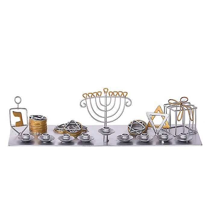Alternate image 1 for Hanukkah! Hanukkah! Menorah