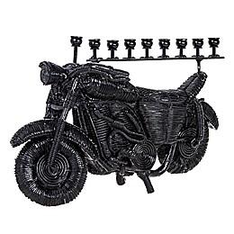 Vroom! Vroom! Motorcycle Hanukkah Menorah