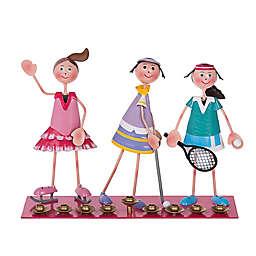 Sporting Girls Hanukkah Menorah
