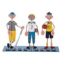 Sporting Boys Hanukkah Menorah