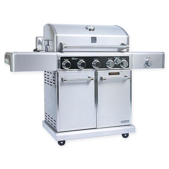 Alternate image 1 for Kenmore Elite© PG-40506SRLC 5-Burner Propane Gas Grill in Stainless Steel